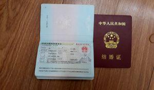 Visa Q1 de dinh cu tai Trung Quoc sau khi ket hon