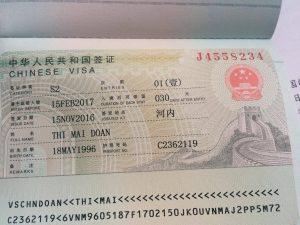 Visa kết hôn Trung Quốc