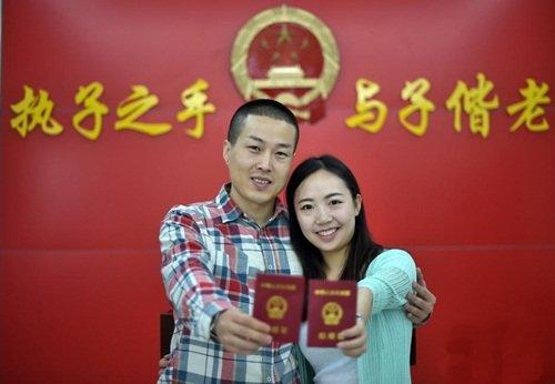 Đăng ký kết hôn với người Trung Quốc