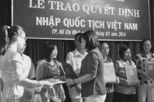 Nhập quốc tịch Việt Nam
