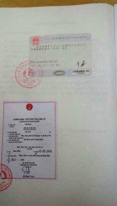 Hợp pháp hóa lãnh sự giấy tờ nước ngoài