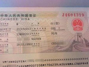 Visa du lịch Trung Quốc - Ảnh minh họa