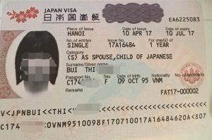 Visa lưu trú Nhật Bản