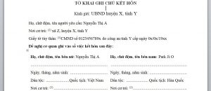 Quy dinh ve giay to ghi chu ket hon voi nguoi Han Quoc - Anh minh hoa