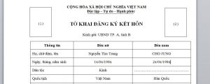 Quy dinh ve giay to ket hon voi nguoi Han Quoc - Anh minh hoa