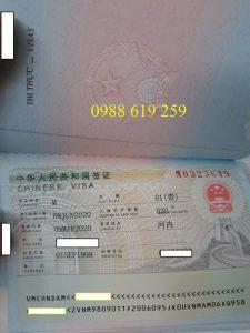Dich vu lam visa Trung Quoc khan - Anh minh hoa