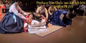 Dinh cu Han Quoc sau khi ket hon - Anh minh hoa