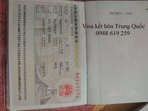 Phong van xin visa ket hon Trung Quoc bang tieng gi - Anh minh hoa