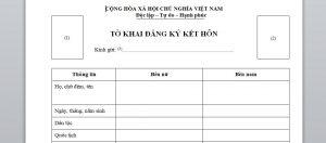 To khai dang ky ket hon voi nguoi Dai Loan - Anh minh hoa